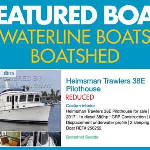 Waterline Boats / Featured Boat – Helmsman 38E