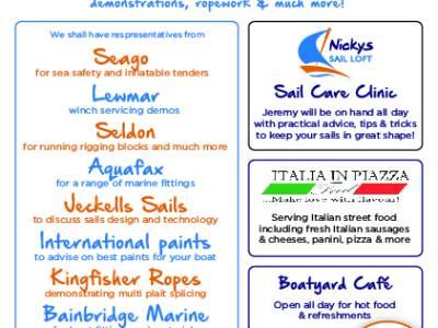 Nicky's Canvasworks Open Day at Brighton Marina Tomorrow!