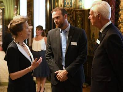 "Princess Royal supports UKSA's ""Building Better Futures"" campaign"