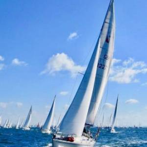 Poole sailors create their own 'race within the race'