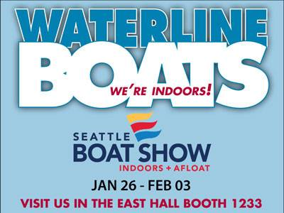 Waterline Boats at the 2018 Seattle Boat Show