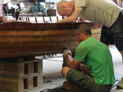 Local shipwright skills assist in keeping traditional Solent Galleys afloat