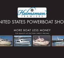 Helmsman Trawlers Premiering à US Powerboat Show!