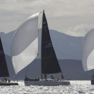 Unique 'round two islands race' caps off Largs Regatta Festival