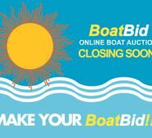 Summer BoatBid Closing Soon!