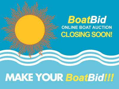 Summer BoatBid Closing Soon!