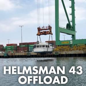 Helmsman 43 Offloaded