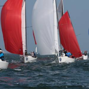 Jeepster top of the J/70 Class at Landsail Tyres J-Cup