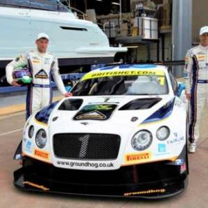 Fairline Yachts' Bentley GT speeds into Oundle