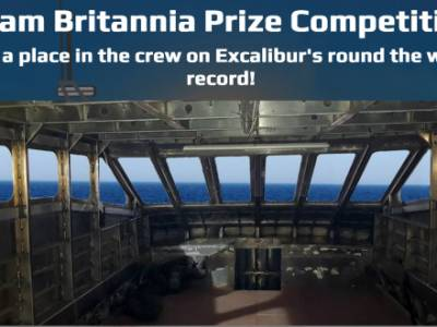 Win a place on Team Britannia's round the world record attempt