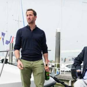 Sir Ben Ainslie names new Wetwheels Solent Boat