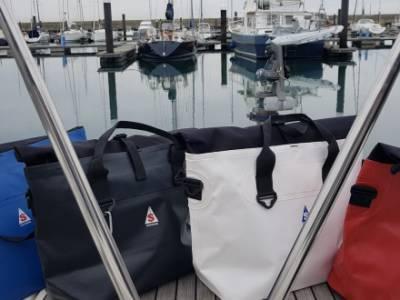 SACQUA™ showcase new waterproof handbag collection at RYA Dinghy Show 2019