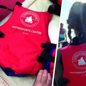 Crewsaver donates essential safety equipment to three new Andrew Simpson Watersports Centres