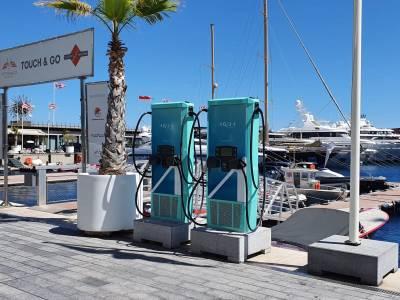 Monaco upgrades marine electric charging
