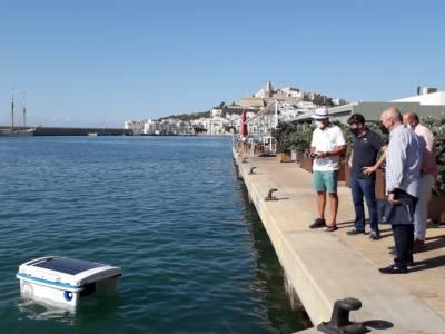 Ibiza and Mallorca marinas employ eco water-cleaning robot