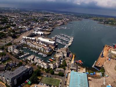 Marine-i helps develop innovative mooring system for Falmouth Harbour