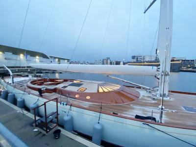 Spirit Yacht 111 'Geist' a contemporary luxury bespoke superyacht and we were lucky enough to take a peek!