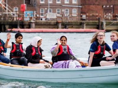 Book your FREE opportunity to try out rowing,  kayaking and sailing in Gosport