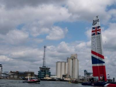 First day of Cowes SailGP racing cancelled