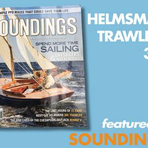 SOUNDINGS Magazine features the Helmsman Trawlers® 38E