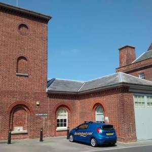 Boatshed operates from Gosport historic Engine House and Accumulator Tower