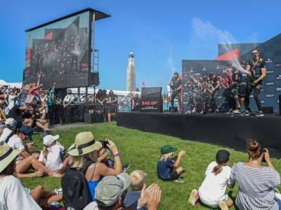 Australia wins Great Britain Sail Grand Prix
