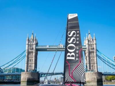 HUGO BOSS launched in London