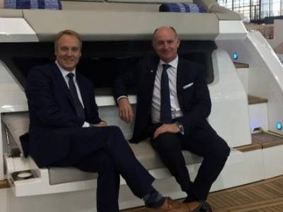 Russell Currie to step down as Managing Director from Fairline Yachts
