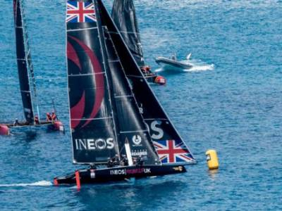 First point on the board for INEOS Rebels UK