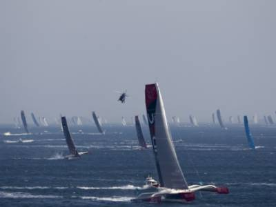 The 2018 Route du Rhum-Destination Guadeloupe gets underway in spectacular fashion