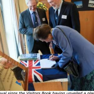 The Cruising Association welcomes The Princess Royal
