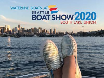 Seattle Boat Show 2020 - Waterline Boats Displaying!