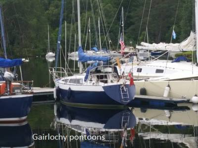 Circumnavigating the UK in a Leisure 27, Part 11 - Caledonian Canal to The Crinan Canal
