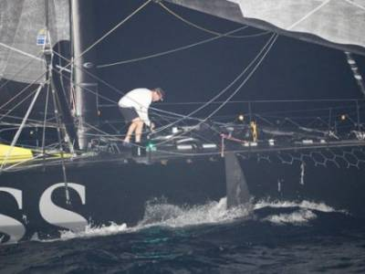 Damage to Alex Thomson's Hugo Boss in closing stages of Route du Rhum-Destination Guadeloupe