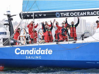 Photo finish for The Ocean Race Europe