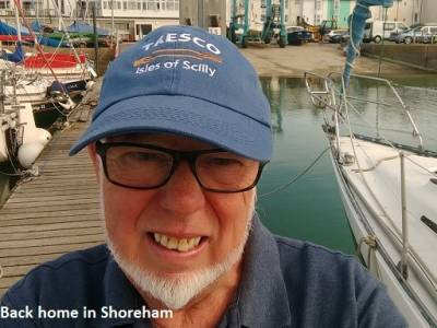 Circumnavigating the UK in a Leisure 27, Part 3 - Ramsgate to Harwich