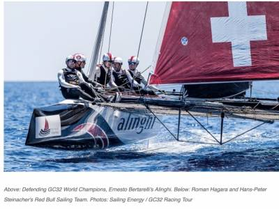 Teams unveiled for 2021 GC32 Racing Tour