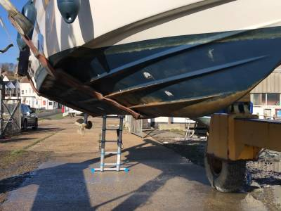 What To Look At Underneath Your Boat - Bonus Video! - General Look Under a Sports Cruiser