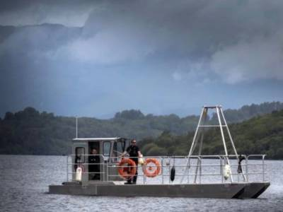 Electric boat rolls out for Loch Lomand rangers