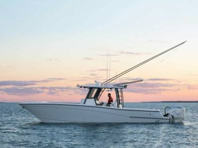 First models from World Cat's new Greenville site hit the water
