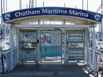 Clean Marina day at Chatham Maritime Marina