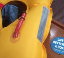Lifejacket deflation - the right way!