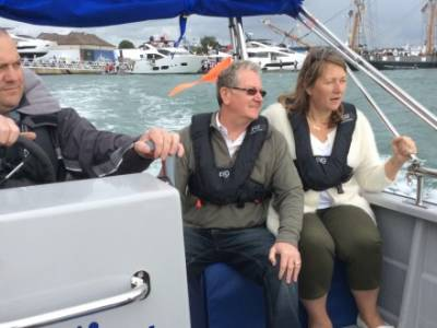 The Wheelyboat Trust unveils latest wheelchair-accessible powerboat at Seawork