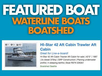 Waterline Boats / Boatshed Featured Boat – HI-Star 42