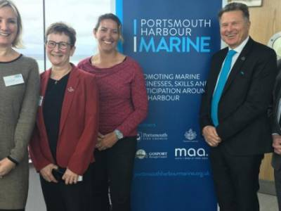 Portsmouth Harbour Marine launched