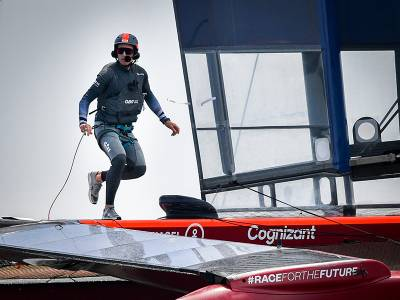 Great Britain SailGP Team ready to race on home waters