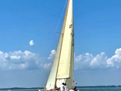 Iconic racing yacht restored