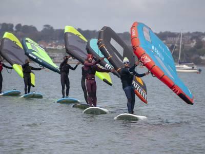 RYA launches new wingsurfing training scheme