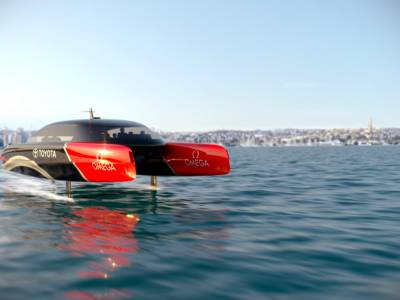 Hydrogen to power next America's Cup chase boats