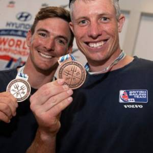 World championship bronze for Britain's Fletcher and Bithell